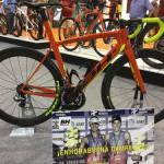 Presentación de la bici de Fernando Alarza