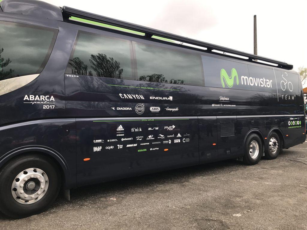 Autobús Movistar