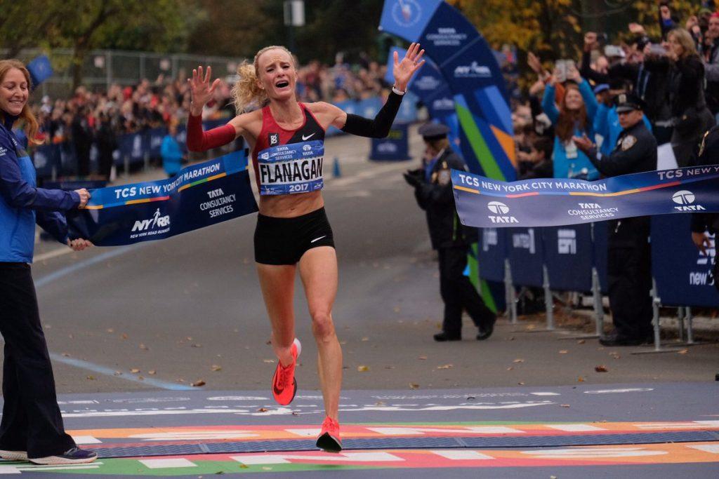 Shalane Flanagan meta Maratón New York